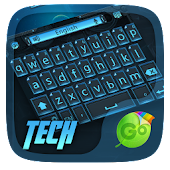 Tech GO Keyboard Theme & Emoji