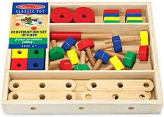 Melissa and Doug Construction Set - 48pcs
