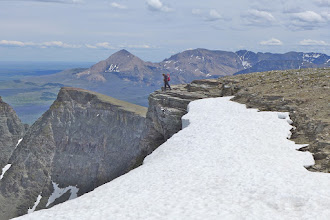 Photo: Looking south from the summit of East Flat Top
