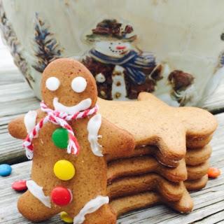 Ginger Bread Man cookies.