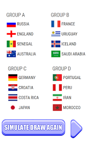 World Cup Russia 2018 Draw Simulator - náhled