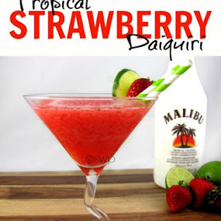 Tropical Strawberry Daiquiri Recipe