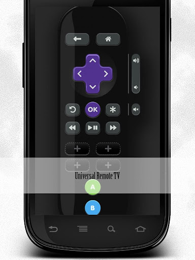 Roku Remote Control TV App screenshot 1