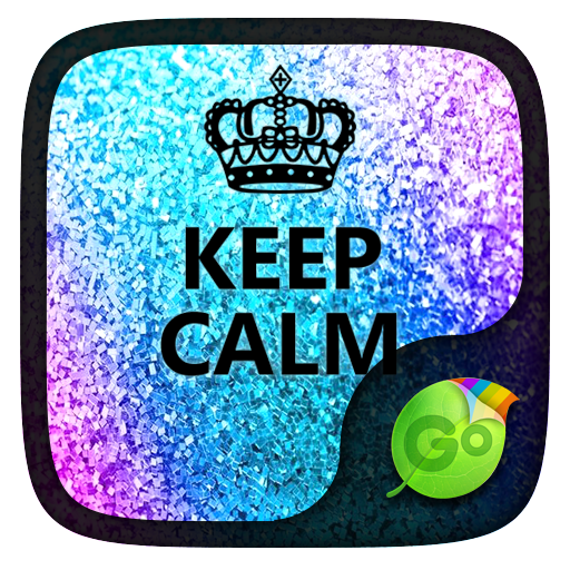 Keep Calm GO Keyboard theme