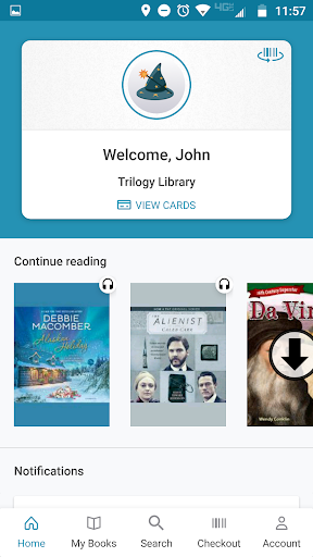 cloudLibrary 4.5.13 screenshots 1