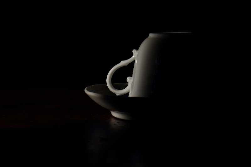 Luce in cerca del caffè di rip