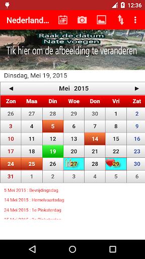 Nederland Kalender 2015