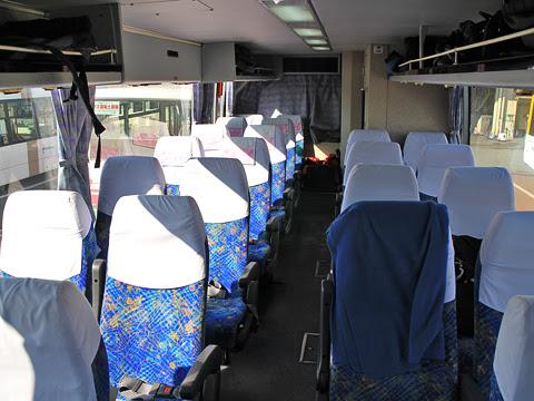西鉄「フェニックス号」 6016 後部4列シート