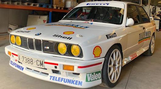 Aznar con BMW  en '55 RallyRACC Catalunya Costa Daurada Rally de España'