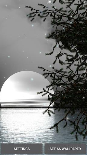 Moonlight Live Wallpaper 4.0 screenshots 4