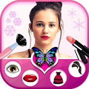Girls Makeup Photo Editor Face beauty Makeup