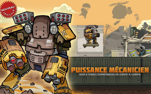 Code Triche Metal Soldiers 2 apk mod screenshots 3