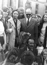 Photo: 1972 r. Wycieczka do Warszawy, Konstanty Sielepin, Eugeniusz Molski