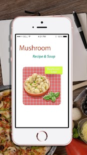 Mushroom - Mushroom soup and recipes - náhled