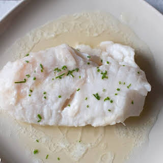 Butter Poached Monkfish.
