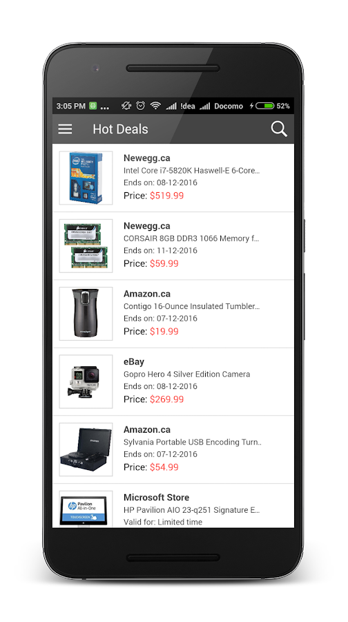 eDealinfoCA - Deals & Coupons- screenshot