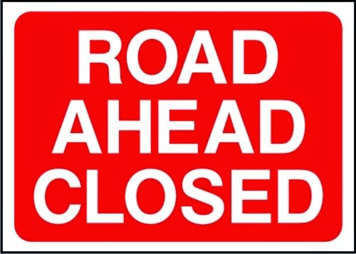 Broad Street closed tonight and problems for contractors