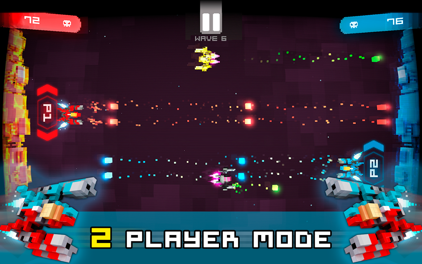 Twin Shooter - Invaders- screenshot