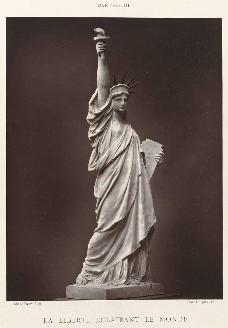 Pierre Petit, La Liberté éclairant le monde, Woodburytypie, Goupil & Cie., 1883, collectie Rijksmuseum Amsterdam