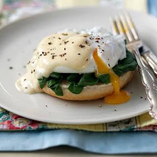 Eggs Florentine.