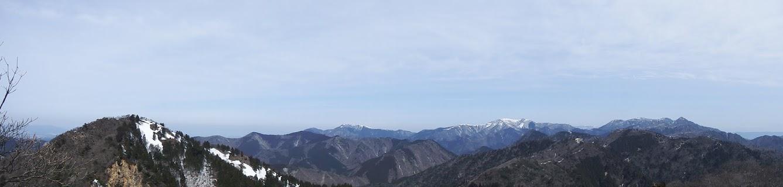 東峰からパノラマ