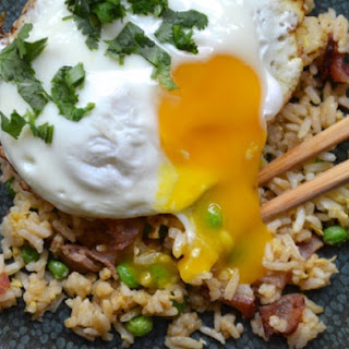 Bacon and Egg Fried Rice.