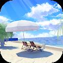 escape room:Summer beach icon