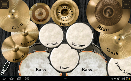 Drum kit (Drums) free Screenshot