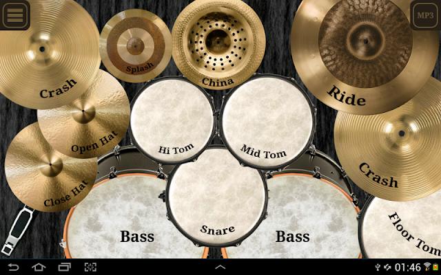 Drum kit (Drums) free - screenshot