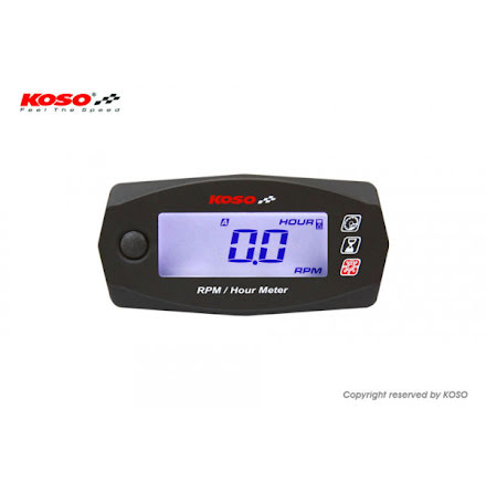 KOSO Mini 4 - Speed and operating time meter