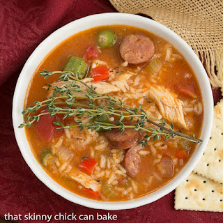 Chicken Jambalaya Soup #SundaySupper