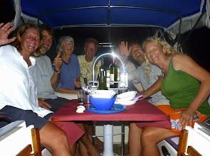 Photo: Cena a bordo