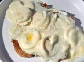 Creamed Eggs Recipe