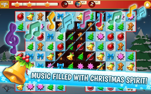 Christmas Crush Holiday Swapper Candy Match 3 Game 1.35 screenshots 13
