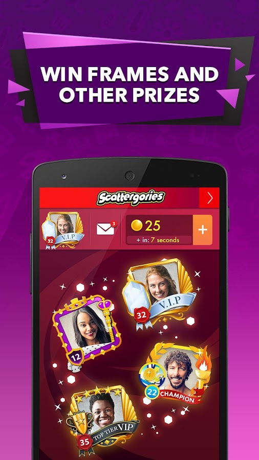 Scattergories- screenshot