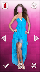 Woman Dress Photo Montage screenshot 0
