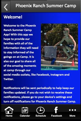 Phoenix Ranch Summer Camp