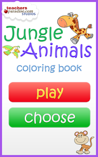 Jungle Animals Coloring Book- screenshot thumbnail