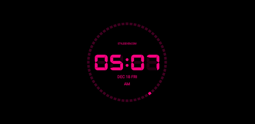 Digital Clock AW-7 PRO Apps for Android screenshot
