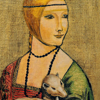 Study Leonardo da Vinci NEW The Lady With the Ermine