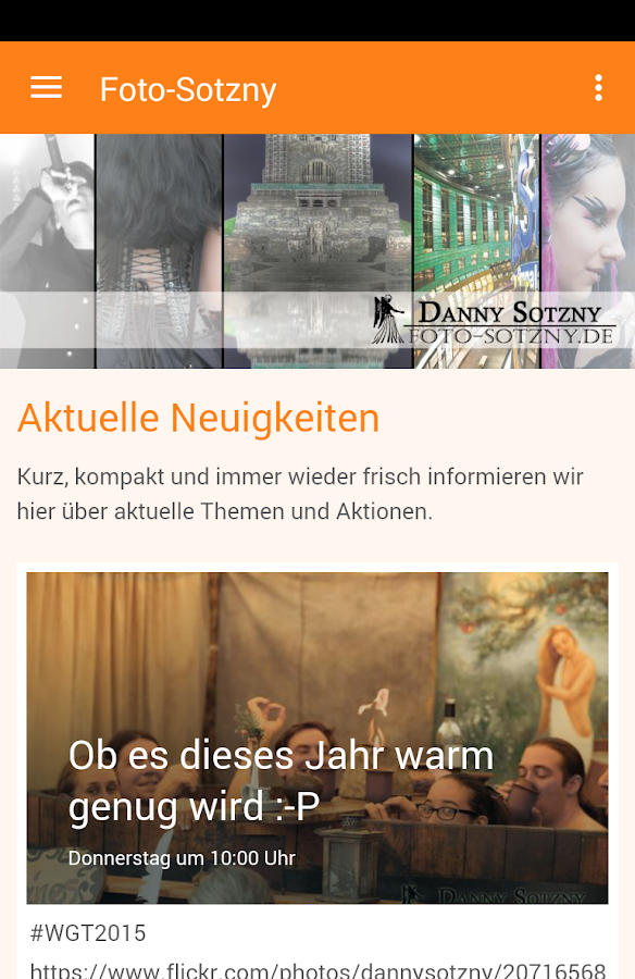 Foto-Sotzny.de- screenshot