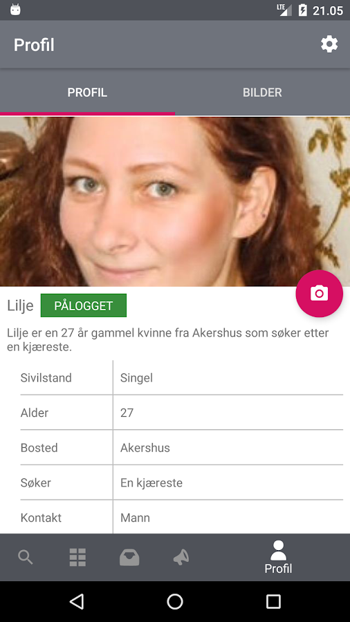 NettDating – Møteplassen for single- screenshot