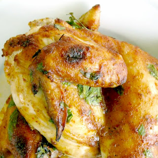Chili Coconut Roast Chicken.