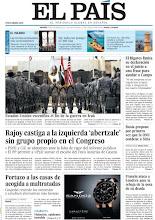 """Photo: En nuestra portada del viernes 16 diciembre: """"Rajoy castiga a la izquierda 'abertzale' sin grupo propio"""", """"El Bigotes limita su declaración en el juicio a una frase para ayudar a Camps"""", """"Portazo a las casas de acogida a maltratadas"""" y """"Rusia propone por primera vez que la ONU condene a Siria"""". http://www.elpais.com/static/misc/portada20111216.pdf"""