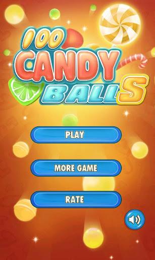 100 Candy Balls 3D screenshot 3