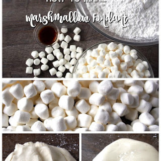 Marshmallow Fondant Without Shortening Recipes.