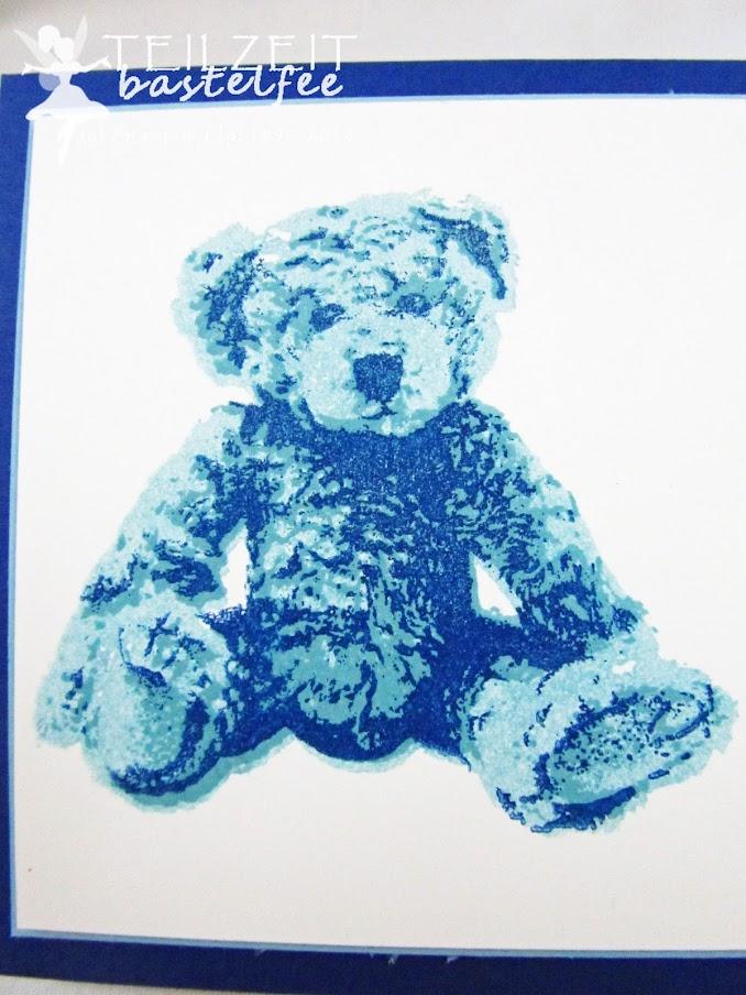 Stampin' Up! - Inkspire_me, Sketch Challenge, baby boy, Geburt, Baby Bear, Unentbärliche Grüße