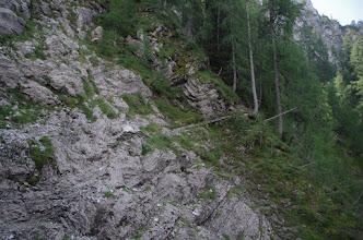 Photo: Lijep i lagan dio plezalne poti.