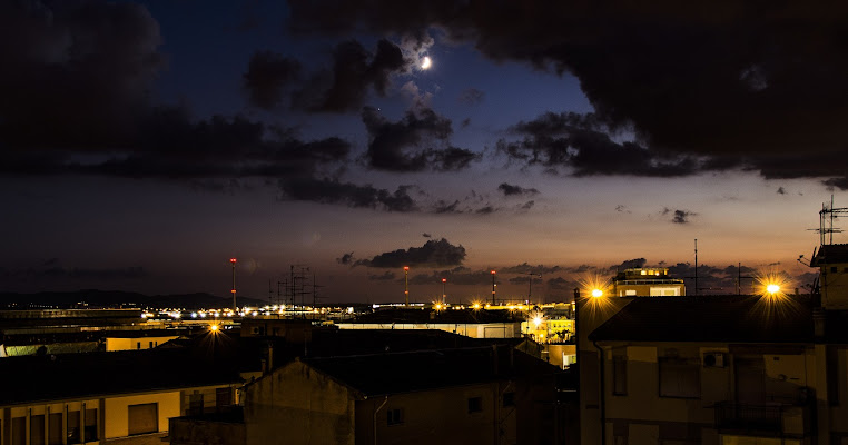 Zona Industriale Pontedera by Night di Ph. Flavio Catelani