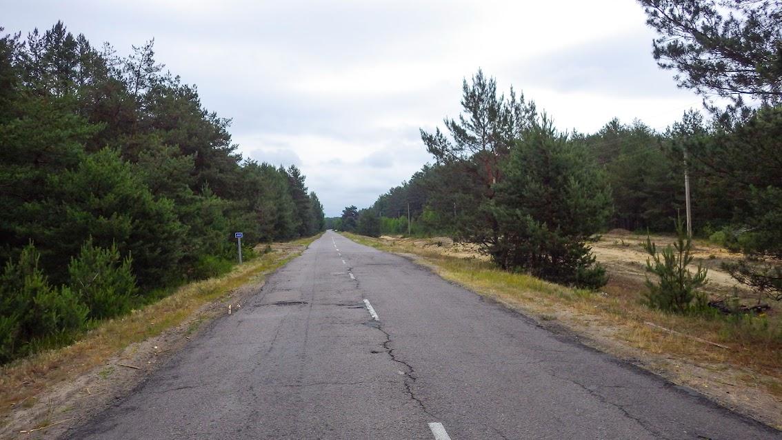 дорога до Балашівки